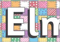 Elmer The Elephant Display Banner –Patchwork Design
