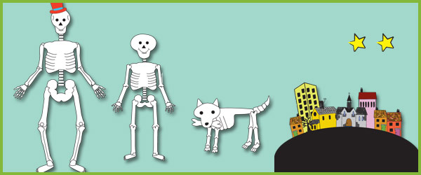 Funny Bones Themed Story Cut Outs Free Early Years