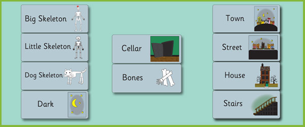 Funny Bones Word Cards Free Early Years Amp Primary