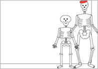Funny Bones Themed Notepaper