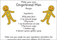 The Gingerbread Man Recipe