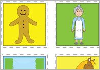 The Gingerbread Man - Free Printable Story Resources | Free Early ...