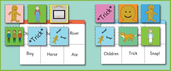 Gingerbread Man Bingo | Free Early Years & Primary ...