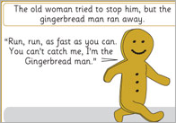 The Gingerbread Man - Free Printable Story Resources | Free EYFS / KS1 ...