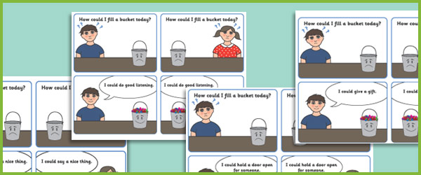Have A Filled Your Bucket Today? Flashcards