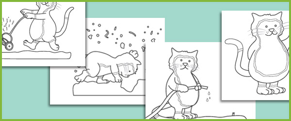 Jasper's Beanstalk Colouring Sheets