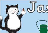 Jasper's Beanstalk Display Banner