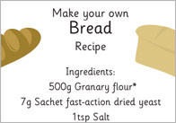Little Red Hen Bread Recipe