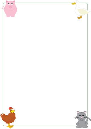 Little Red Hen notepaper