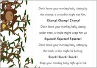 Monkey Babies Poem