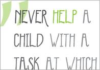 Inspirational Quotation Poster: Maria Montessori