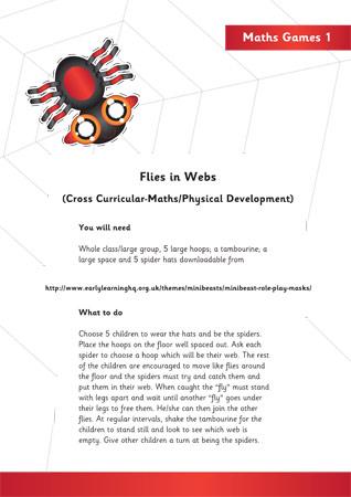 Minibeast physical development activity