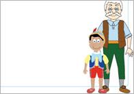 Pinocchio Notepaper