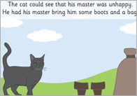 Puss in Boots Story Sequencing Cards