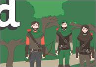 Robin Hood Display Banner