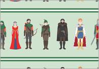 Robin Hood Display Borders