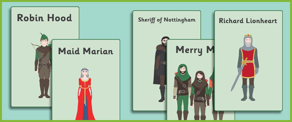 Robin Hood Display Posters Free Story Resources Free