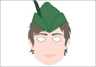 Robin Hood Role-Play Masks