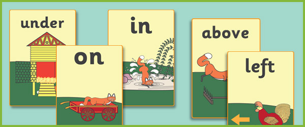 Rosieu0026#39;s Walk Preposition Posters (free story resources ...