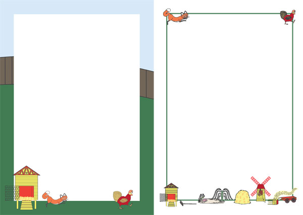 Rosie S Walk Notepaper Free Story Resources Free Early