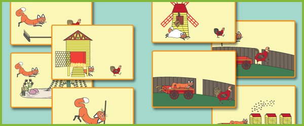 Rosie S Walk Story Prompt Cards Free Story Resources
