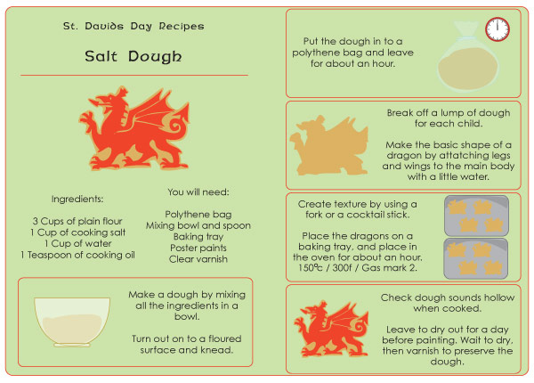 Free Worksheets free printable worksheets uk : Salt Dough Recipe - Free illustrated download : Free Early ...