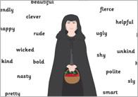 Snow White Character Description Cards