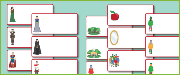 Snow White Editable Labels Fairy Tale Teaching Resources Free Early Years Amp Primary Teaching Resources Eyfs Amp Ks1