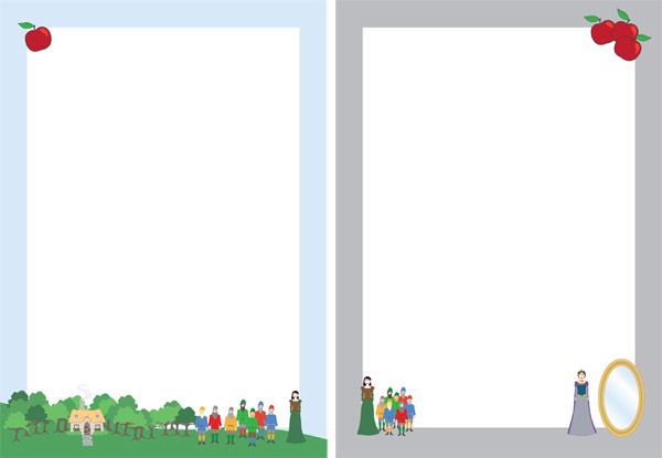 Snow White Notepaper (fairy tale teaching resources ...