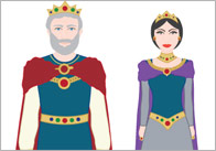 Snow White Story Cut Outs