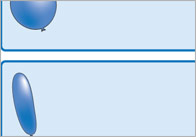 The Blue Balloon Editable Labels