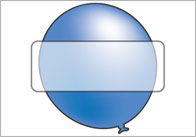 The Blue Balloon Self-Registration Labels