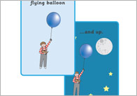The Blue Balloon Story Sequencing Cards