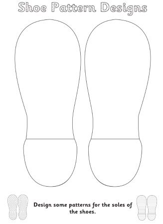 The Elves and the Shoemaker Shoe Pattern Design | Free Early Years ...