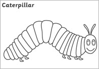 caterpillar story coloring pages - photo#25