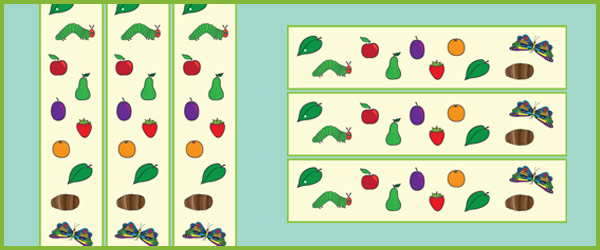 The Very Hungry Caterpillar Display Border | Free Early ...