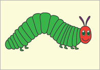 The Very Hungry Caterpillar Display Posters