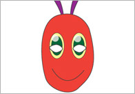 The Very Hungry Caterpillar Role-Play Masks