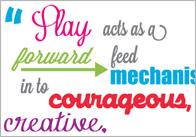 Inspirational Quotation Poster: Tina Bruce