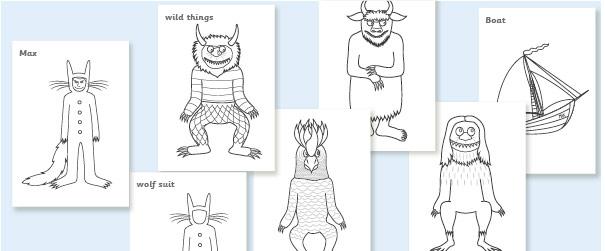 caldecott coloring pages - photo#44