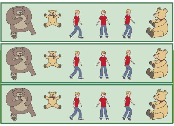 Where's My Teddy? Display Borders