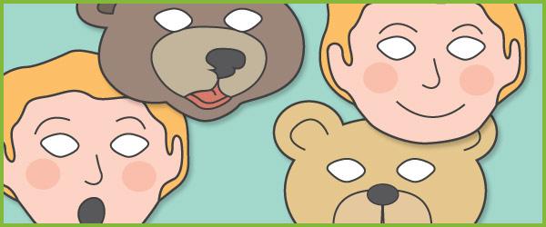 Where's My Teddy? Role-Play Masks
