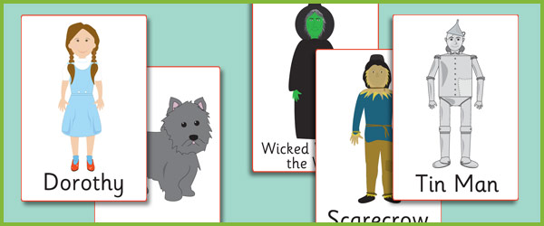 The Wizard of Oz Display Posters