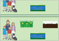bear hunt display border 1 Bear Hunt Classroom Display Borders