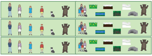 Bear Hunt Classroom Display Borders