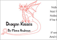 Illustrated 'Dragon Kisses' Poem