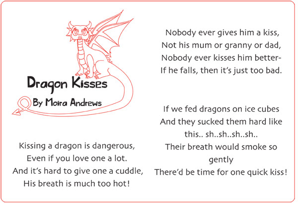 Dragon Kisses by Moira Andrews