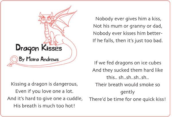 Dragon Kisses by Moira Andrews