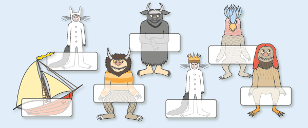 'Where The Wild Things Are' Self-Registration Labels