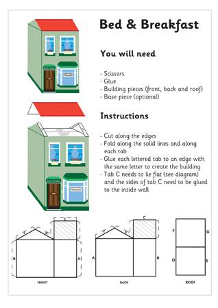 3D Model Building: B & B| Craft Activities For Kids